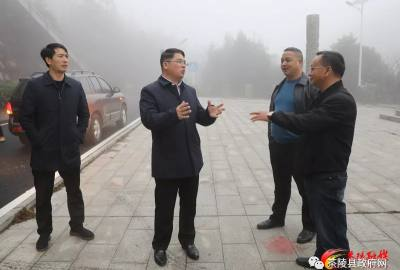 邓元连到云阳国家森林公园调研指导工作